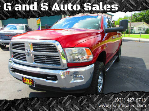 2012 RAM Ram Pickup 2500 for sale at G and S Auto Sales in Ardmore TN