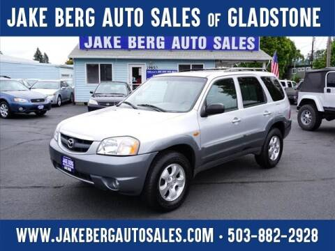 2001 Mazda Tribute for sale at Jake Berg Auto Sales in Gladstone OR