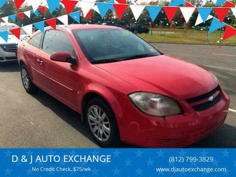 2009 Chevrolet Cobalt for sale at D & J AUTO EXCHANGE in Columbus IN