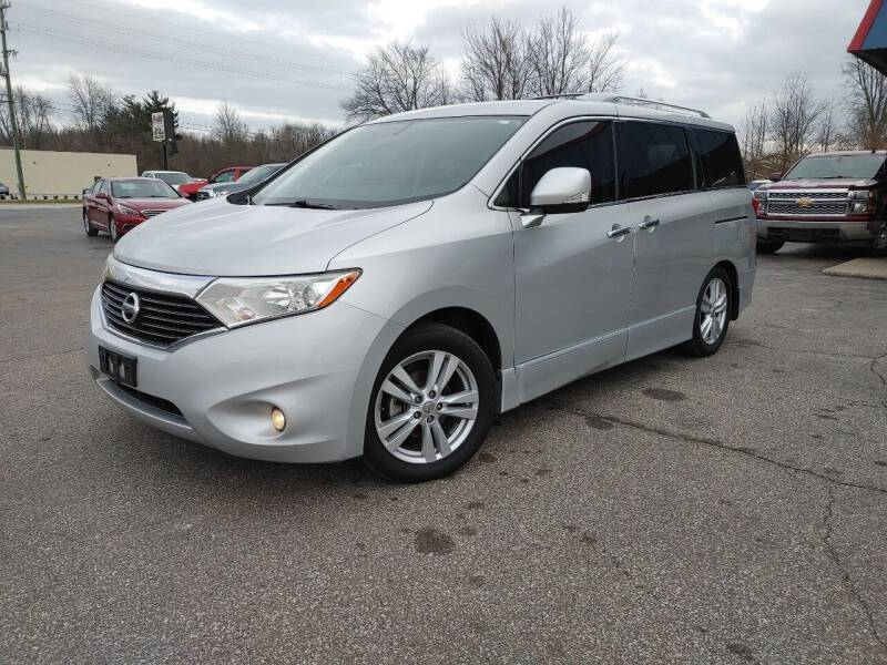 2012 Nissan Quest for sale at Cruisin' Auto Sales in Madison IN