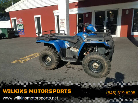 2014 Polaris Sportsman 800 EFI for sale at WILKINS MOTORSPORTS in Brewster NY