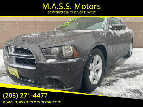 2013 Dodge Charger for sale at M.A.S.S. Motors in Boise ID