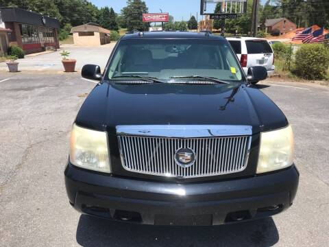 2004 Cadillac Escalade for sale at CAR STOP INC in Duluth GA