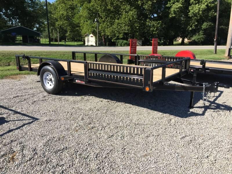 """2020 GRTrailers 82""""x14' ATV,UTV Quad Trailer for sale at Bailey Auto in Pomona KS"""