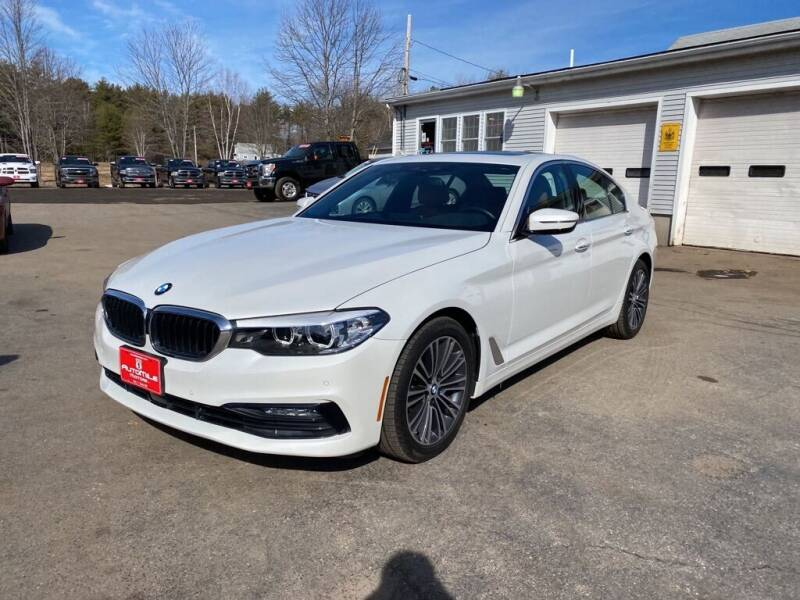 2018 BMW 5 Series for sale at AutoMile Motors in Saco ME