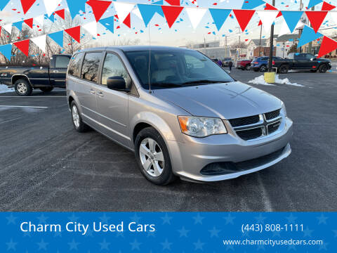 2013 Dodge Grand Caravan for sale at Charm City Used Cars in Baltimore MD