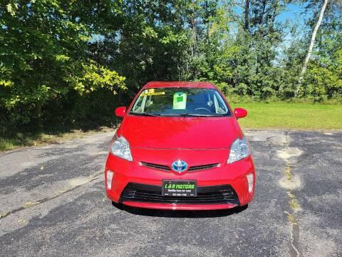 2013 Toyota Prius for sale at L & R Motors in Greene ME
