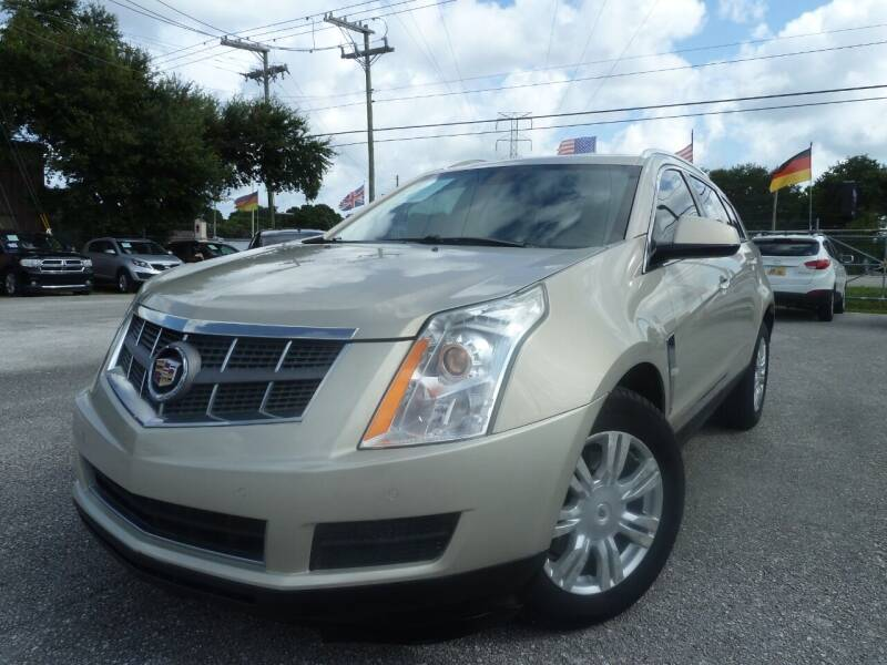 2010 Cadillac SRX for sale at Das Autohaus Quality Used Cars in Clearwater FL