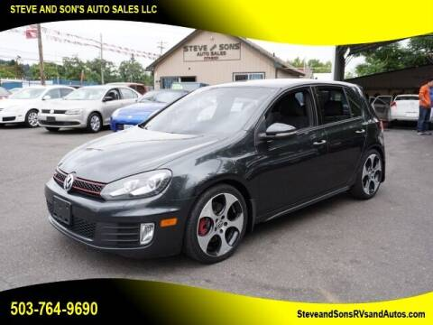 2012 Volkswagen GTI for sale at Steve & Sons Auto Sales in Happy Valley OR