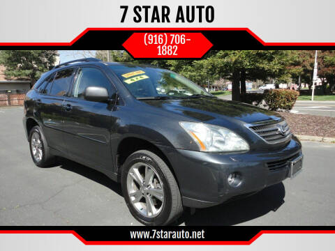 2006 Lexus RX 400h for sale at 7 STAR AUTO in Sacramento CA
