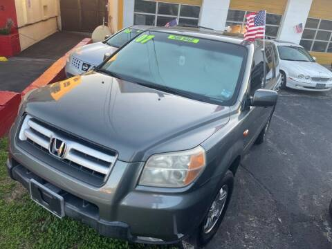 2007 Honda Pilot for sale at The Strong St. Moses Auto Sales LLC in Tallahassee FL