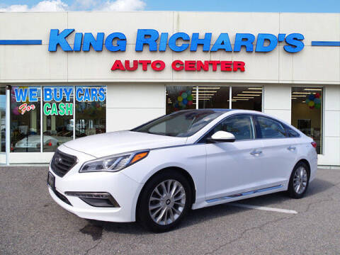 2015 Hyundai Sonata for sale at KING RICHARDS AUTO CENTER in East Providence RI