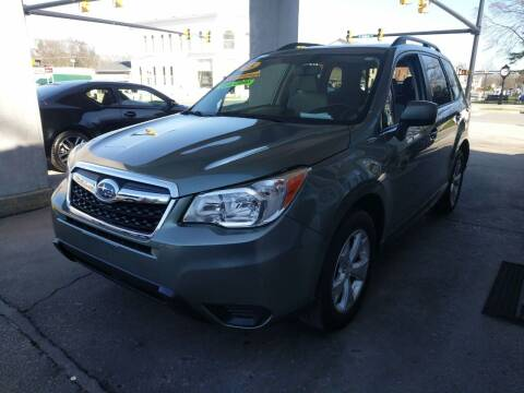 2015 Subaru Forester for sale at ROBINSON AUTO BROKERS in Dallas NC