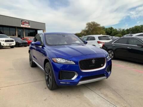 2017 Jaguar F-PACE for sale at KIAN MOTORS INC in Plano TX