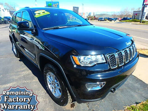 2019 Jeep Grand Cherokee for sale at Jon's Auto in Marquette MI