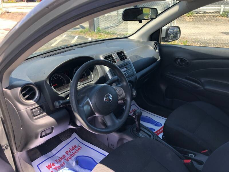 2012 Nissan Versa 1.6 SL 4dr Sedan - Warwick RI