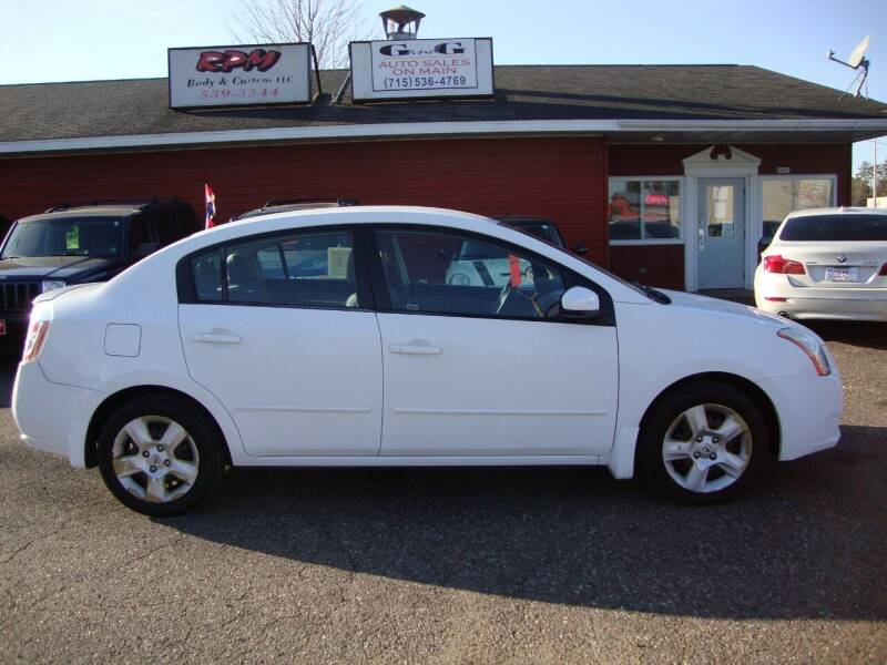 2008 Nissan Sentra for sale at G and G AUTO SALES in Merrill WI