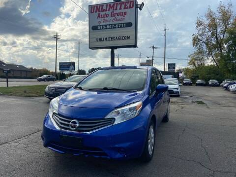 2016 Nissan Versa Note for sale at Unlimited Auto Group in West Chester OH