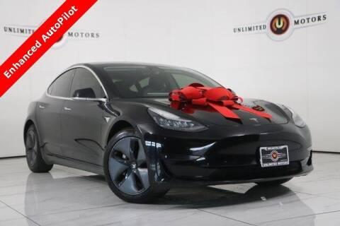 2018 Tesla Model 3 for sale at INDY'S UNLIMITED MOTORS - UNLIMITED MOTORS in Westfield IN