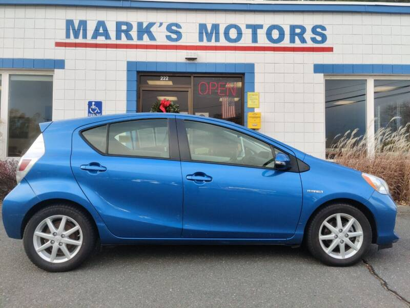 2013 Toyota Prius c for sale at Mark's Motors in Northampton MA