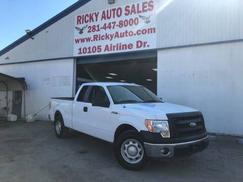 2014 Ford F-150 for sale at Ricky Auto Sales in Houston TX