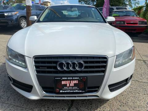 2012 Audi A5 for sale at Best Cars R Us in Plainfield NJ
