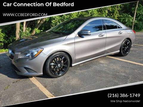 2015 Mercedes-Benz CLA for sale at Car Connection of Bedford in Bedford OH