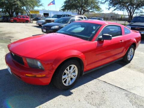 2007 Ford Mustang for sale at Talisman Motor City in Houston TX