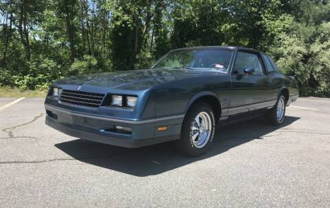 1984 Chevrolet Monte Carlo for sale at Clair Classics in Westford MA