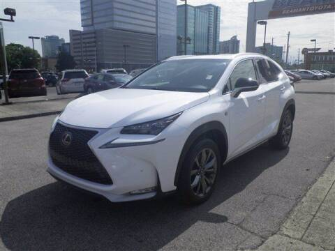 2017 Lexus NX 200t for sale at BEAMAN TOYOTA GMC BUICK in Nashville TN