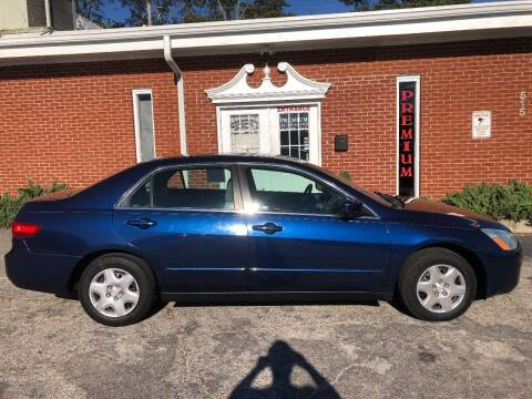 2005 Honda Accord for sale at Premium Auto Sales in Fuquay Varina NC