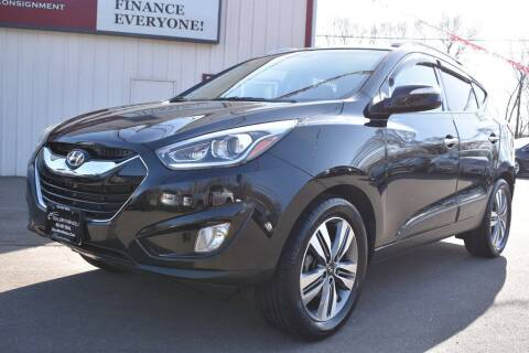 2015 Hyundai Tucson for sale at Dealswithwheels in Inver Grove Heights/Hastings MN