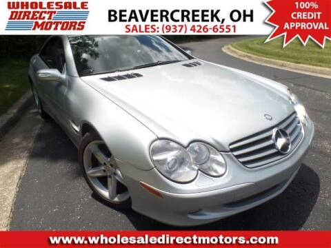 2006 Mercedes-Benz SL-Class for sale at WHOLESALE DIRECT MOTORS in Beavercreek OH