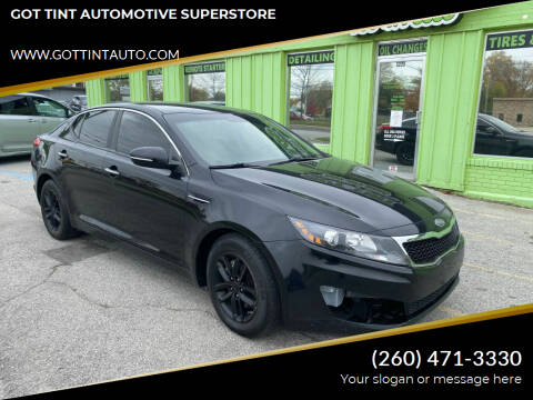 2012 Kia Optima for sale at GOT TINT AUTOMOTIVE SUPERSTORE in Fort Wayne IN