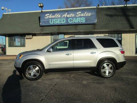 2010 GMC Acadia for sale at SHULTS AUTO SALES INC. in Crystal Lake IL