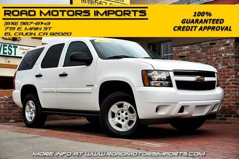 2008 Chevrolet Tahoe for sale at Road Motors Imports in El Cajon CA