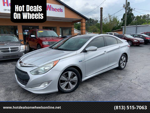 2011 Hyundai Sonata Hybrid for sale at Hot Deals On Wheels in Tampa FL