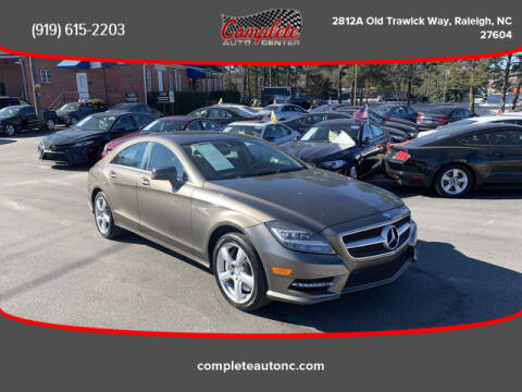 2013 Mercedes-Benz CLS for sale at Complete Auto Center , Inc in Raleigh NC