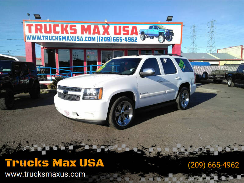 2008 Chevrolet Tahoe for sale at Trucks Max USA in Manteca CA