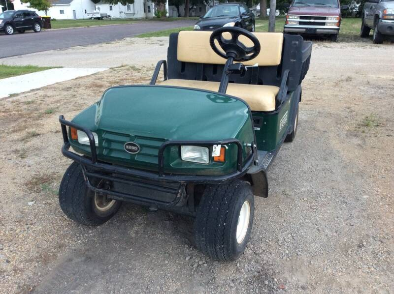 2010 E-Z-GO MPT GOLF CART for sale at Kimpton Auto Sales in Wells MN