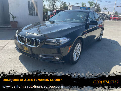 2015 BMW 5 Series for sale at CALIFORNIA AUTO FINANCE GROUP in Fontana CA