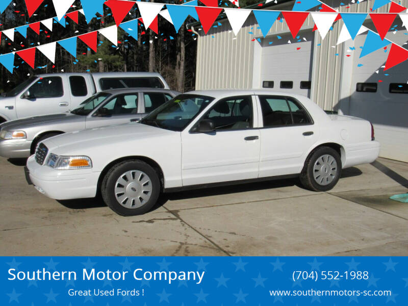 2011 Ford Crown Victoria for sale at Southern Motor Company in Lancaster SC