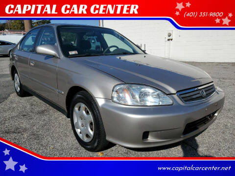 2000 Honda Civic for sale at CAPITAL CAR CENTER in Providence RI