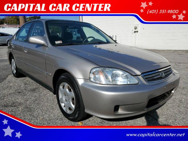 2000 Honda Civic for sale at CAPITAL CAR CENTER in Providence RI