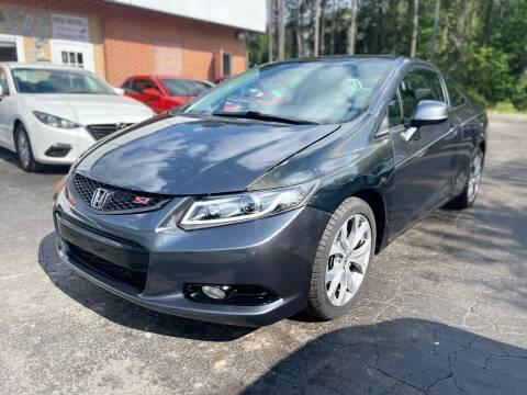 2012 Honda Civic for sale at Magic Motors Inc. in Snellville GA