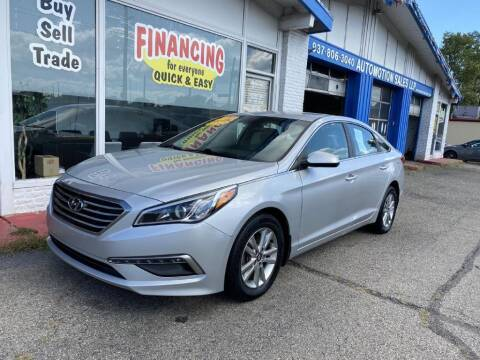 2015 Hyundai Sonata for sale at AutoMotion Sales in Franklin OH