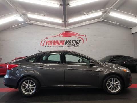 2016 Ford Focus for sale at Premium Motors in Villa Park IL