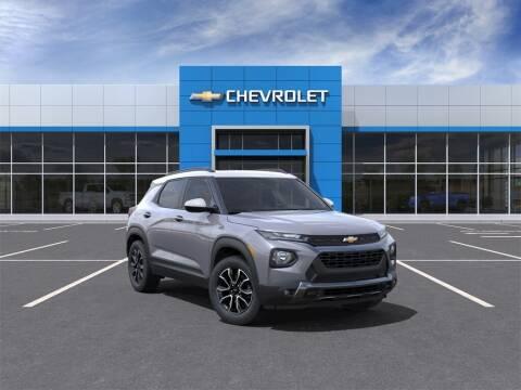 2022 Chevrolet TrailBlazer for sale at MATTHEWS HARGREAVES CHEVROLET in Royal Oak MI