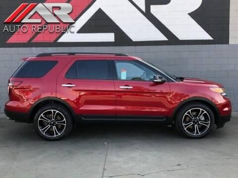 2014 Ford Explorer for sale at Auto Republic Fullerton in Fullerton CA