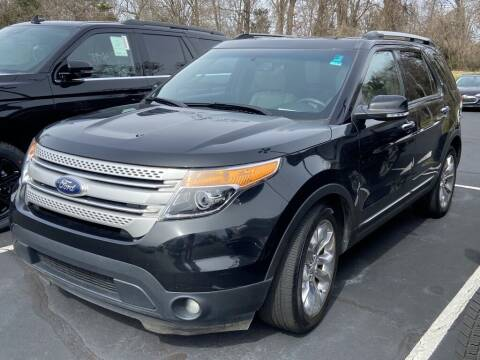 2013 Ford Explorer for sale at Stearns Ford in Burlington NC